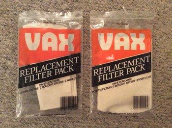 Vax Filterset
